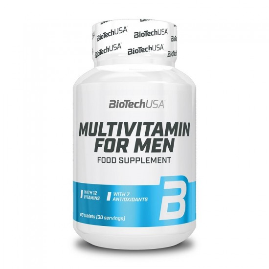 Multivitamin for Men 60 tabs - BioTech USA