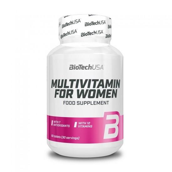 Multivitamin for Women 60 tabs - BioTech USA