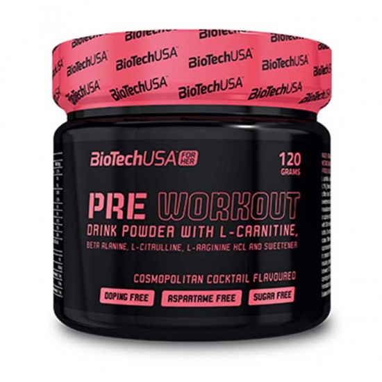Pre Workout for her 120g - BioTech USA