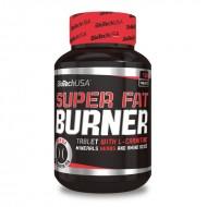 Super Fat Burner 120 κάψουλες - Biotech USA / Θερμογεννετικός Λιποδιαλύτης