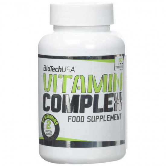 Vitamin Complex 60 caps - Biotech USA