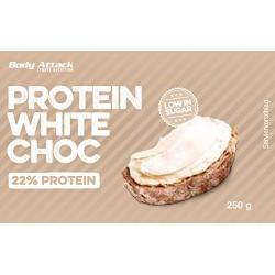 Protein White Choc 250γρ - Body Attack - Κρέμα Σνακ Επάλειψης με Πρωτεΐνη