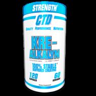 Kre-Alkaline 120 κάψουλες 60 Δόσεις - CTD Sports / Κρεατίνη