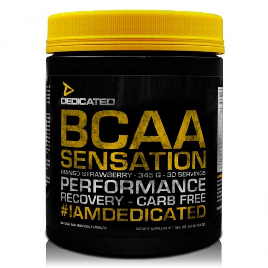BCAA Sensation V.2 345g - Dedicated Nutrition