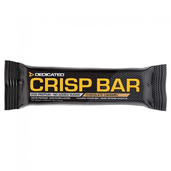 Crisp Bar 55gr - Dedicated Nutrition