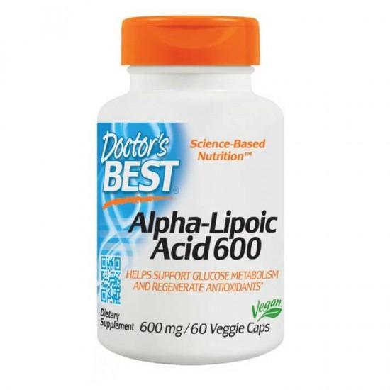 Alpha Lipoic Acid 600mg 60 vcaps - Doctor's Best