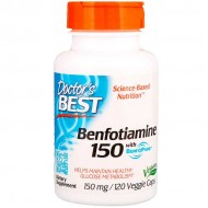 Benfotiamine with BenfoPure 150mg 120 vcaps - Doctor's Best
