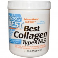 Best Collagen Types 1 & 3 Powder 200γρ - Doctor's Best / Κολλαγόνο