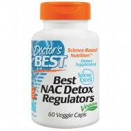 NAC Detox Regulators 60 φυτοκάψουλες - Doctor's Best / Ειδικά Συμπληρώματα