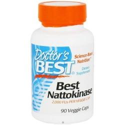 Best Nattokinase 2000FU 90 κάψουλες - Doctors Best / Ένζυμο