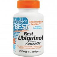 Best Ubiquinol 100mg Kaneka QH 60 μαλακές κάψουλες - Doctors Best / Ένζυμο CoQ10