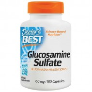 Glucosamine Sulfate 750 mg 180 caps - Doctor's Best / Θειική γλυκοζαμίνη