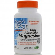 High Absorption Magnesium 120 Tablets - Doctor's Best / Μαγνήσιο