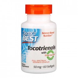 Tocotrienols 50 mg 60 Softgels - Doctor's Best