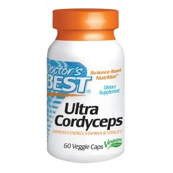Ultra Cordyceps 750mg 60Vcaps - Doctor's Best