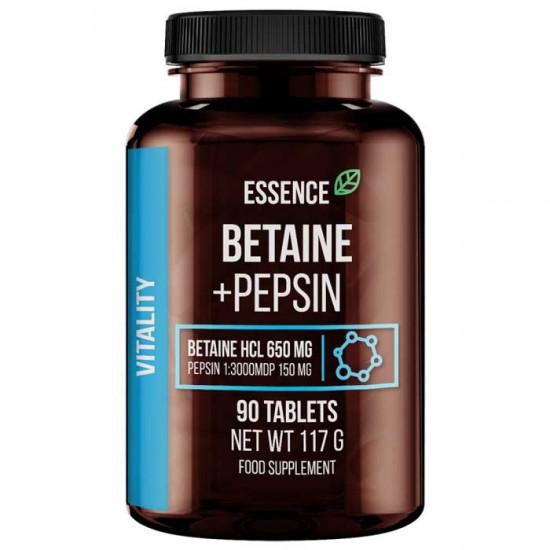 Betaine + Pepsin 90 tablets - Essence Nutrition