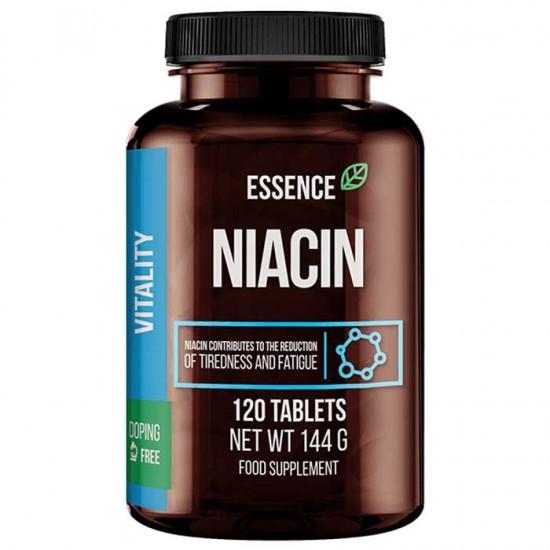 Niacin 500 mg 120 tabs - Essence Nutrition