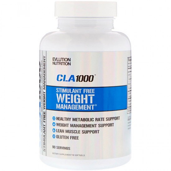 CLA 1000 Stimulant Free 90 softgels - EVLution Nutrition
