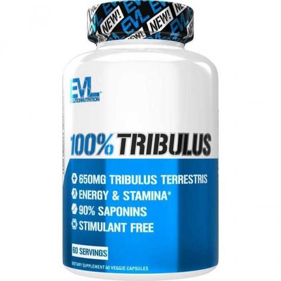 100% Tribulus 60 vcaps - EVLution Nutrition