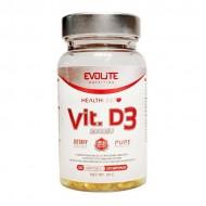 Vit D3 2000IU 120 softgels - Evolite / Βιταμίνη
