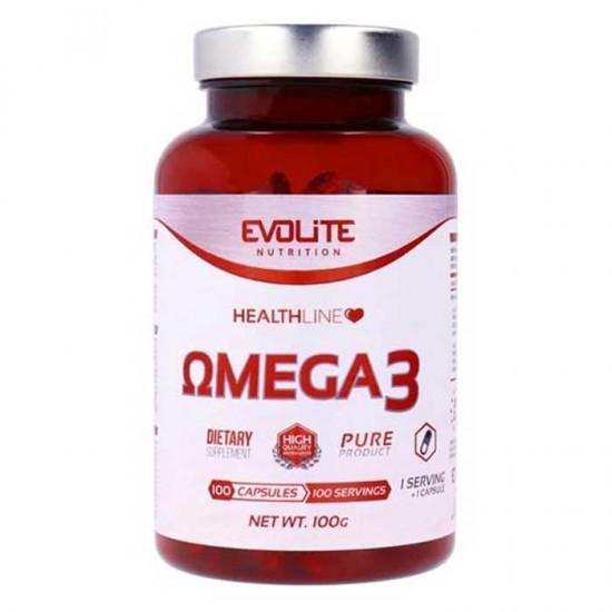 Omega 3 1000mg 100 κάψουλες - Evolite - Ωμέγα 3 Λιπαρά Οξέα