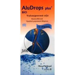 Πόσιμο Υαλουρονικό Οξύ Bio Aludrops Plus Hyaluron 50ml