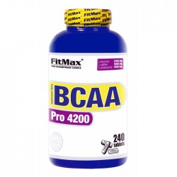 BCAA Pro 4200 240 tabs - FitMax