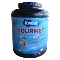 Gourmet Whey Protein 2270gr - Fitway