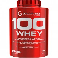 Chrome 100 Whey 2280gr - Galvanize Nutrition