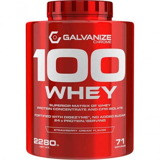 Chrome 100 Whey 2280gr - Galvanize Nutrition