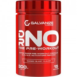 DR NO 300gr - Galvanize Nutrition / Pre-Workout  - Νιτρικά