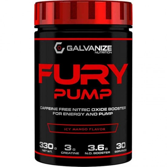 Fury Pump 330gr - Galvanize Nutrition