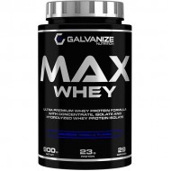 Max Whey 900gr - Galvanize Nutrition