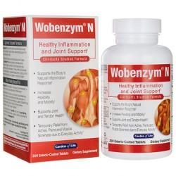 Wobenzym N 200 ταμπλέτες - Garden of Life / Αρθρώσεις