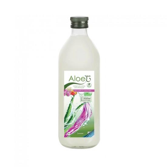 Genomed Aloe G Πόσιμο Gel Αλόης Με Μαστίχα & Στέβια 1000ml