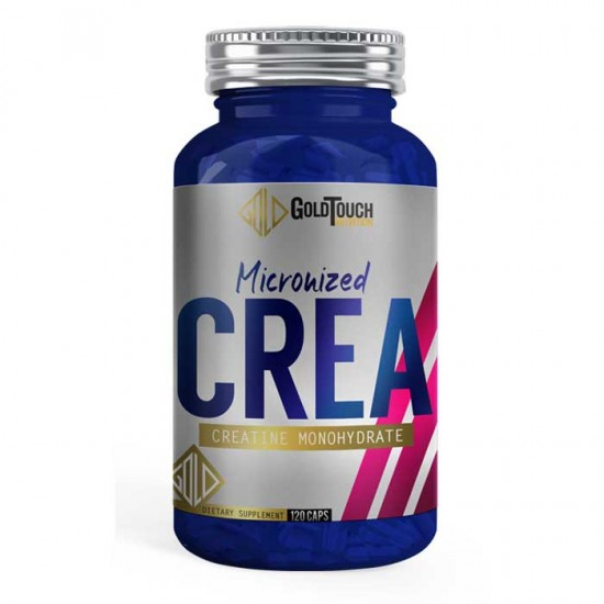 Creatine Monohydrate Micronized Crea 120caps - GoldTouch Nutrition