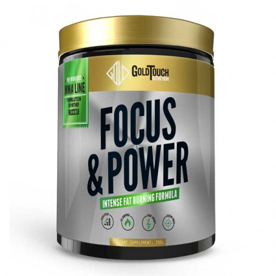 Focus & Power 200gr - GoldTouch Nutrition