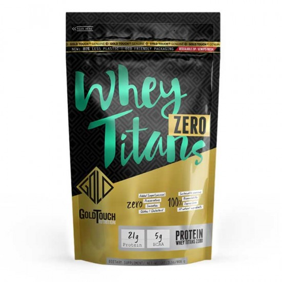 Whey Titans Zero 908gr bag  - GoldTouch Nutrition