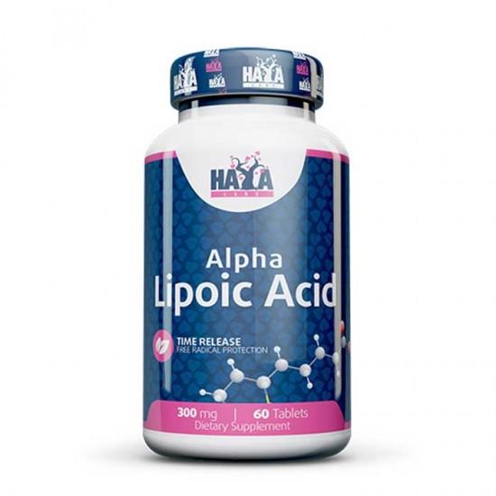 Alpha Lipoic Acid Time Release 300mg 60 tablets - Haya Labs