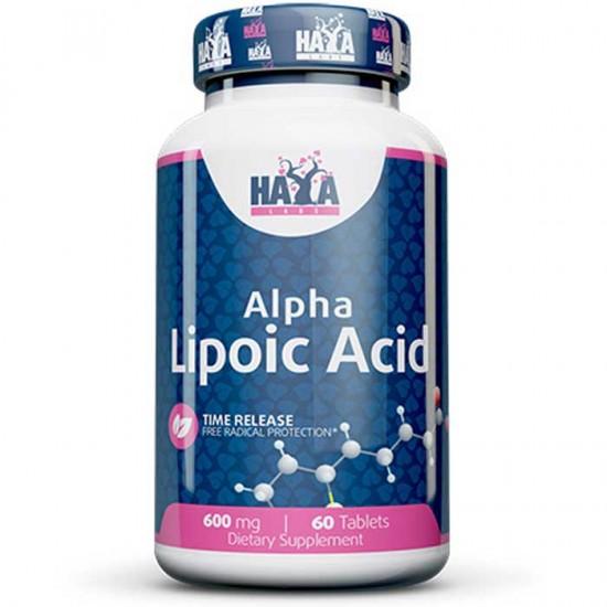Alpha Lipoic Acid Time Release 600mg 60 tablets - Haya Labs