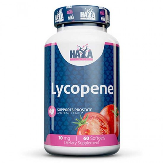 Lycopene 10mg 60 softgels - Haya Labs
