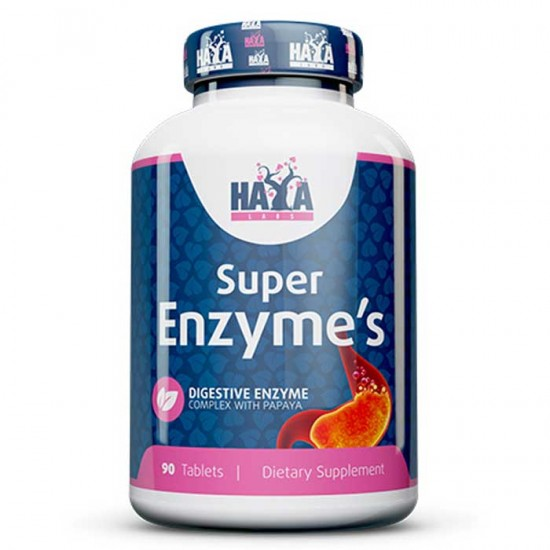 Super Enzyme Complex 90 tablets - Haya Labs