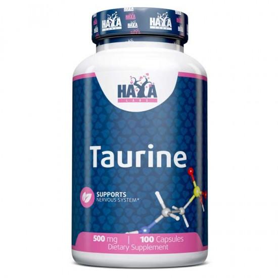 Taurine 500mg 100 caps - Haya Labs