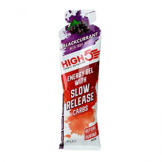 Energy Gel with Slow Release Carbs 62g - High5