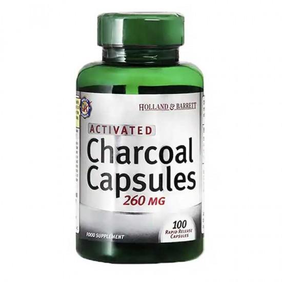 Activated Charcoal 100 caps - Holland Barrett