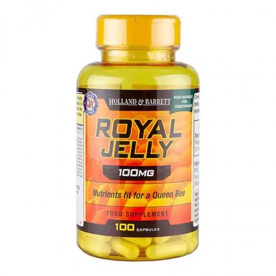 Royal Jelly 100 mg 100 caps - Holland & Barrett