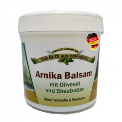 Arnika Balsam 120ml - Inntaler / (Βάλσαμο Άρνικας με ελαιόλαδο & βούτυρο καριτέ)