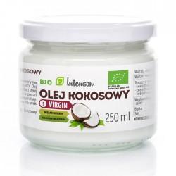 Αγνό Λάδι καρύδας 250ml - Intenson (Coconut Oil - Olej Kokosowy)