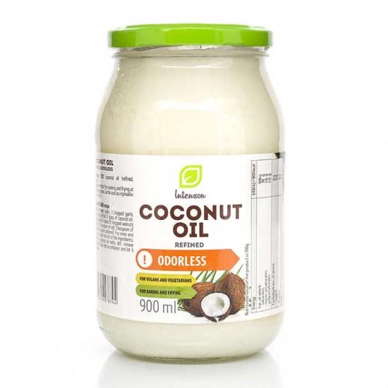 Αγνό Βιολογικό Λάδι καρύδας 900ml - Intenson (Coconut Oil - Olej Kokosowy)