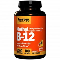 Methyl B-12 2500mg 100 παστίλιες - Jarrow / Βιταμίνες